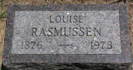 RASMUSSEN, LOUISE - Dakota County, Nebraska   LOUISE RASMUSSEN - Nebraska Gravestone Photos