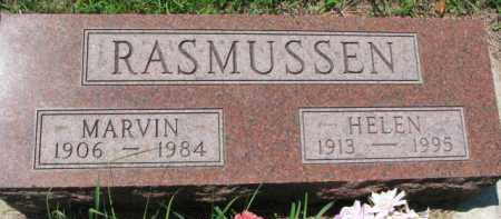 RASMUSSEN, MARVIN - Dakota County, Nebraska | MARVIN RASMUSSEN - Nebraska Gravestone Photos