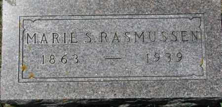 RASMUSSEN, MARIE S. - Dakota County, Nebraska | MARIE S. RASMUSSEN - Nebraska Gravestone Photos
