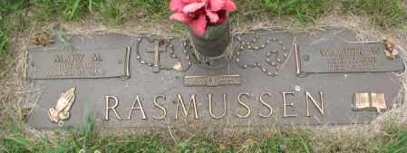 RASMUSSEN, WALTER W. - Dakota County, Nebraska   WALTER W. RASMUSSEN - Nebraska Gravestone Photos
