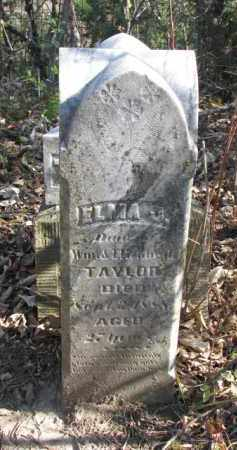 TAYLOR, ELMA J. - Dakota County, Nebraska   ELMA J. TAYLOR - Nebraska Gravestone Photos