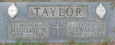 TAYLOR, EDWARD M. - Dakota County, Nebraska | EDWARD M. TAYLOR - Nebraska Gravestone Photos