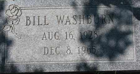 WASHBURN, BILL - Dakota County, Nebraska | BILL WASHBURN - Nebraska Gravestone Photos