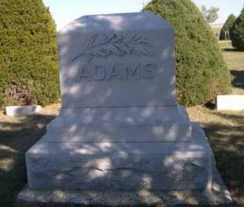 ADAMS, FAMILY - Dawes County, Nebraska | FAMILY ADAMS - Nebraska Gravestone Photos