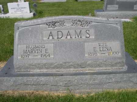 ADAMS, MARVIN E. - Dawes County, Nebraska   MARVIN E. ADAMS - Nebraska Gravestone Photos