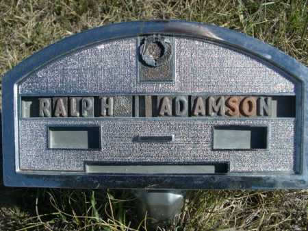 ADAMSON, RALPH - Dawes County, Nebraska   RALPH ADAMSON - Nebraska Gravestone Photos