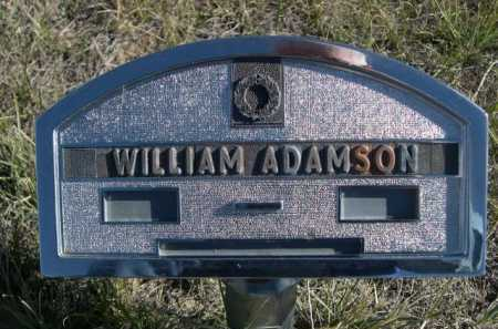 ADAMSON, WILLIAM - Dawes County, Nebraska | WILLIAM ADAMSON - Nebraska Gravestone Photos