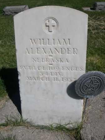 ALEXANDER, WILLIAM - Dawes County, Nebraska | WILLIAM ALEXANDER - Nebraska Gravestone Photos