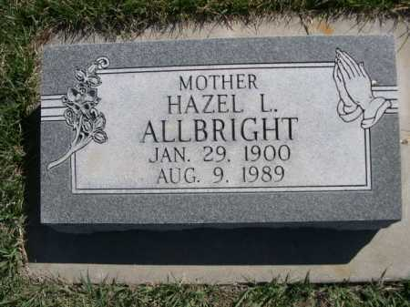 ALLBRIGHT, HAZEL L. - Dawes County, Nebraska | HAZEL L. ALLBRIGHT - Nebraska Gravestone Photos