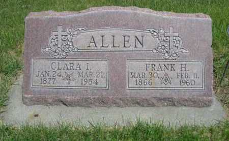 ALLEN, CLARA I. - Dawes County, Nebraska | CLARA I. ALLEN - Nebraska Gravestone Photos