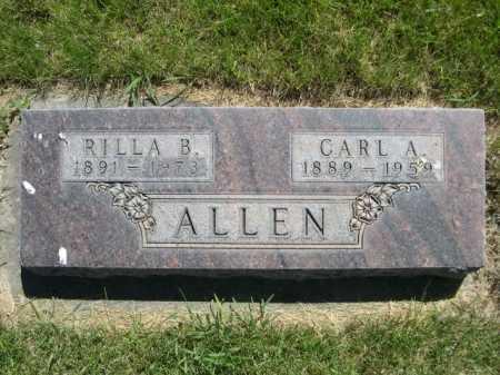 ALLEN, CARL A. - Dawes County, Nebraska   CARL A. ALLEN - Nebraska Gravestone Photos