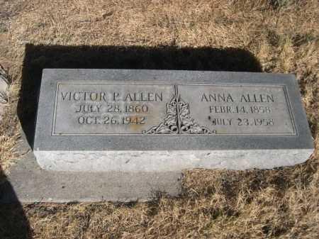 ALLEN, VICTOR P. - Dawes County, Nebraska | VICTOR P. ALLEN - Nebraska Gravestone Photos