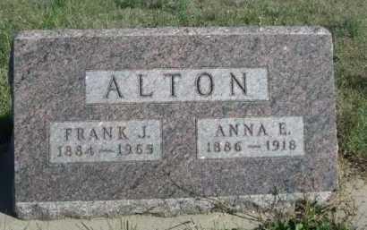 ALTON, ANNA E. - Dawes County, Nebraska | ANNA E. ALTON - Nebraska Gravestone Photos