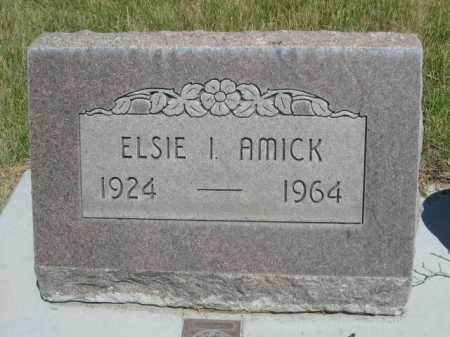 AMICK, ELSIE I. - Dawes County, Nebraska | ELSIE I. AMICK - Nebraska Gravestone Photos