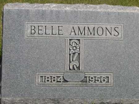 AMMONS, BELLE - Dawes County, Nebraska | BELLE AMMONS - Nebraska Gravestone Photos