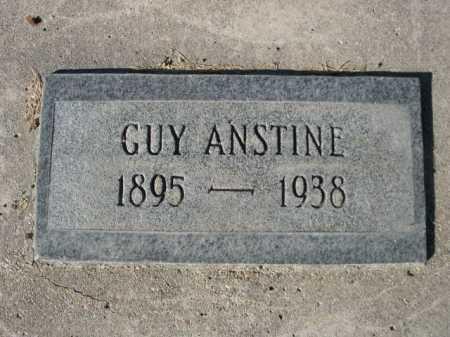 ANSTINE, GUY - Dawes County, Nebraska | GUY ANSTINE - Nebraska Gravestone Photos