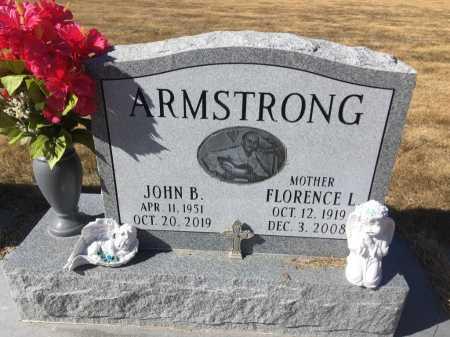 ARMSTRONG, JOHN B - Dawes County, Nebraska | JOHN B ARMSTRONG - Nebraska Gravestone Photos