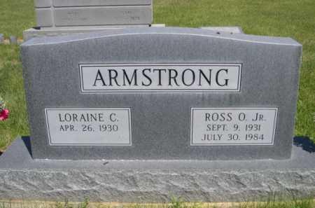 ARMSTRONG, ROSS O. JR. - Dawes County, Nebraska | ROSS O. JR. ARMSTRONG - Nebraska Gravestone Photos