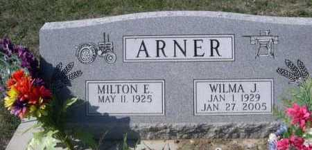 ARNER, MILTON E. - Dawes County, Nebraska | MILTON E. ARNER - Nebraska Gravestone Photos