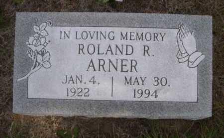 ARNER, ROLAND R. - Dawes County, Nebraska   ROLAND R. ARNER - Nebraska Gravestone Photos