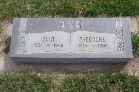 ASH, ELLA - Dawes County, Nebraska | ELLA ASH - Nebraska Gravestone Photos