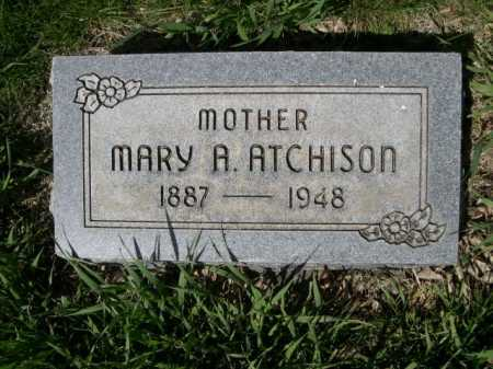 ATCHISON, MARY A. - Dawes County, Nebraska | MARY A. ATCHISON - Nebraska Gravestone Photos