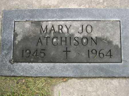 ATCHISON, MARY JO - Dawes County, Nebraska | MARY JO ATCHISON - Nebraska Gravestone Photos