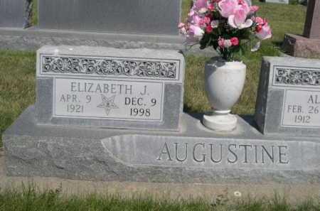AUGUSTINE, ELIZABETH J. - Dawes County, Nebraska | ELIZABETH J. AUGUSTINE - Nebraska Gravestone Photos