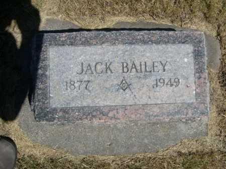 BAILEY, JACK - Dawes County, Nebraska | JACK BAILEY - Nebraska Gravestone Photos