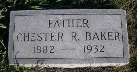 BAKER, CHESTER R. - Dawes County, Nebraska | CHESTER R. BAKER - Nebraska Gravestone Photos