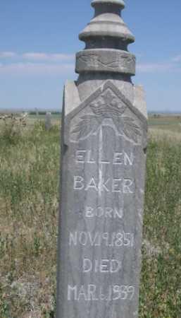 BAKER, ELLEN - Dawes County, Nebraska | ELLEN BAKER - Nebraska Gravestone Photos
