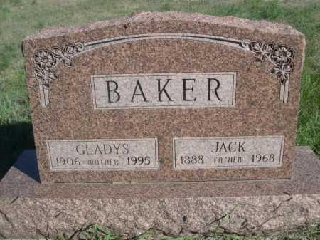 BAKER, JACK - Dawes County, Nebraska   JACK BAKER - Nebraska Gravestone Photos