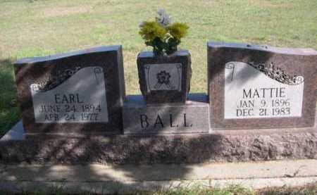 BALL, MATTIE - Dawes County, Nebraska   MATTIE BALL - Nebraska Gravestone Photos