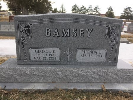 BAMSEY, GEORGE E - Dawes County, Nebraska | GEORGE E BAMSEY - Nebraska Gravestone Photos