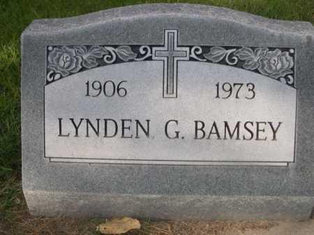 BAMSEY, LYNDEN - Dawes County, Nebraska   LYNDEN BAMSEY - Nebraska Gravestone Photos