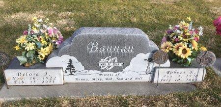 BANNON, DELORA J - Dawes County, Nebraska | DELORA J BANNON - Nebraska Gravestone Photos