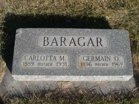 BARAGAR, CARLOTTA M. - Dawes County, Nebraska | CARLOTTA M. BARAGAR - Nebraska Gravestone Photos