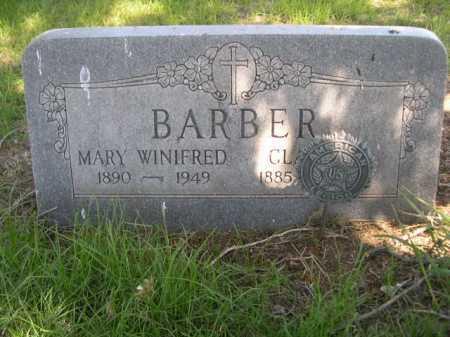 BARBER, CLAUDE - Dawes County, Nebraska | CLAUDE BARBER - Nebraska Gravestone Photos