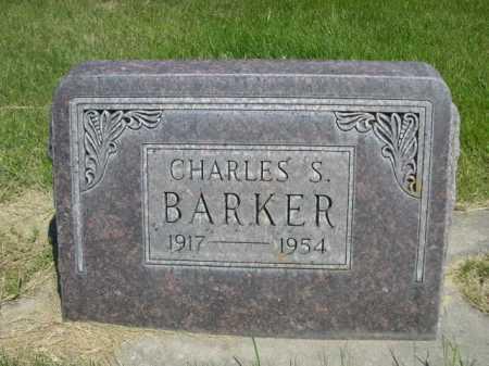 BARKER, CHARLES S. - Dawes County, Nebraska | CHARLES S. BARKER - Nebraska Gravestone Photos