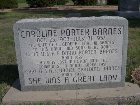BARNES, CAROLINE - Dawes County, Nebraska | CAROLINE BARNES - Nebraska Gravestone Photos