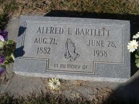 BARTLETT, ALFRED L. - Dawes County, Nebraska   ALFRED L. BARTLETT - Nebraska Gravestone Photos