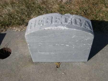 BARTLETT, REBECCA - Dawes County, Nebraska | REBECCA BARTLETT - Nebraska Gravestone Photos