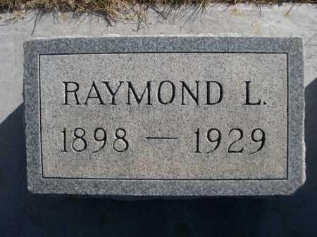 BARTLETT, RAYMOND L. - Dawes County, Nebraska | RAYMOND L. BARTLETT - Nebraska Gravestone Photos