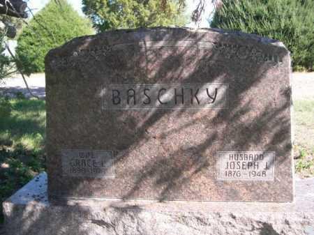 BASCHKY, GRACE L. - Dawes County, Nebraska   GRACE L. BASCHKY - Nebraska Gravestone Photos