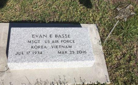 BASSE, EVAN E - Dawes County, Nebraska | EVAN E BASSE - Nebraska Gravestone Photos