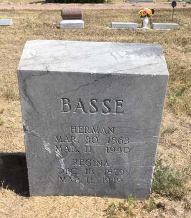 BASSE, REGINA - Dawes County, Nebraska | REGINA BASSE - Nebraska Gravestone Photos