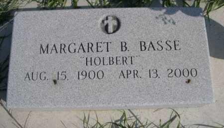 BASSE, MARGARET B. - Dawes County, Nebraska | MARGARET B. BASSE - Nebraska Gravestone Photos