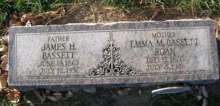 BASSETT, EMMA M. - Dawes County, Nebraska | EMMA M. BASSETT - Nebraska Gravestone Photos