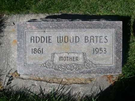 BATES, ADDIE - Dawes County, Nebraska | ADDIE BATES - Nebraska Gravestone Photos