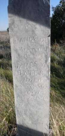 BATES, NANCY M. - Dawes County, Nebraska | NANCY M. BATES - Nebraska Gravestone Photos